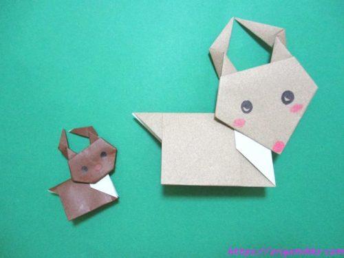 折り紙でトナカイの折り方。簡単に子供でもかわいいクリスマス