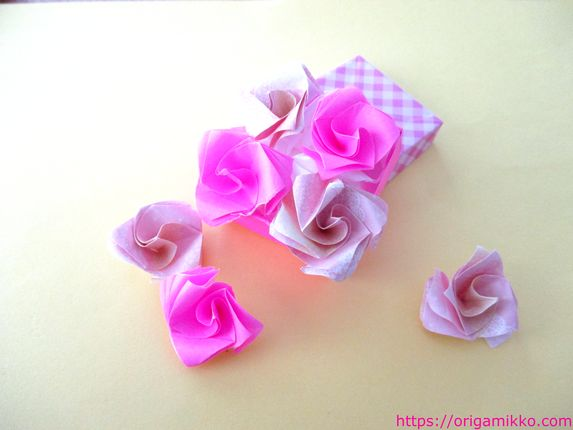 花 折り紙