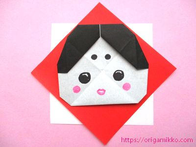 折り紙 折り 方 かわいい 鬼